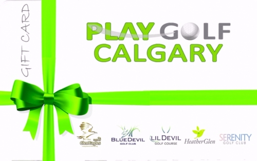 Play Golf Calgary Anything Card 2017